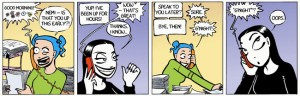 Nemi Comic strip