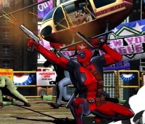 Deadpool in Marvel vs Capcom 3