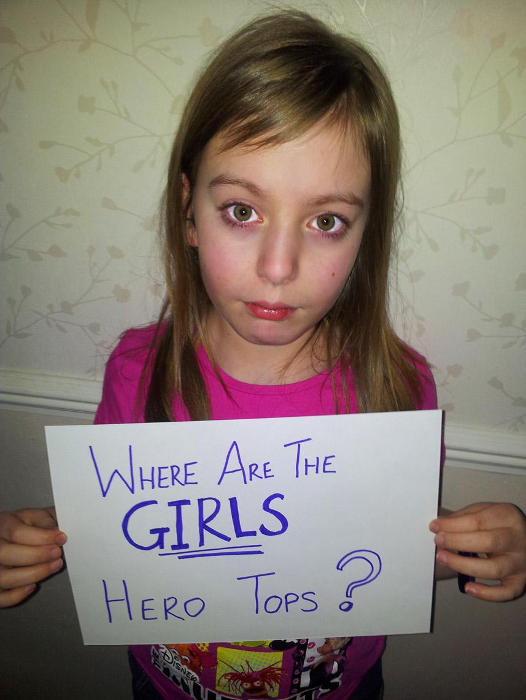 girl hero tops