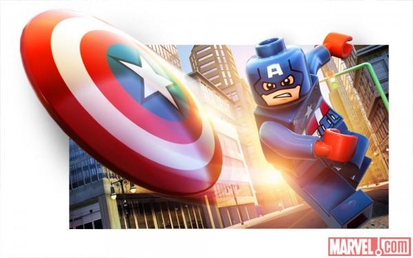 Lego Captain America