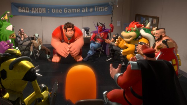 Wreck-It Ralph Bad Guy Support Group