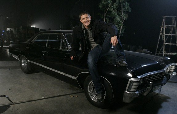 Shame Jensen Ackles doesn't come with the car...