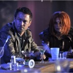 Grant Bowler & Stephanie Leonidas in Defiance