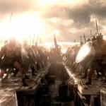 Greek warriors prepare to kick some ass