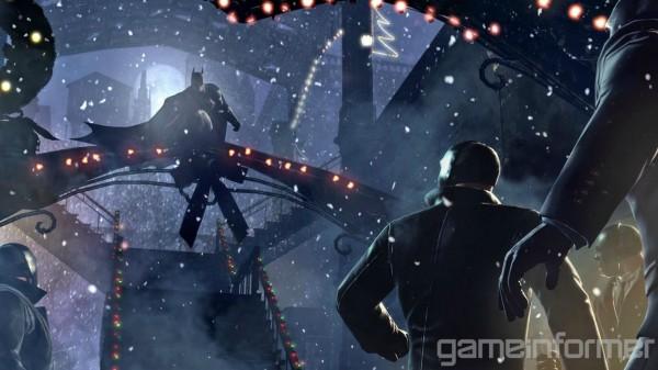 Batman: Arkham Origins - Perching