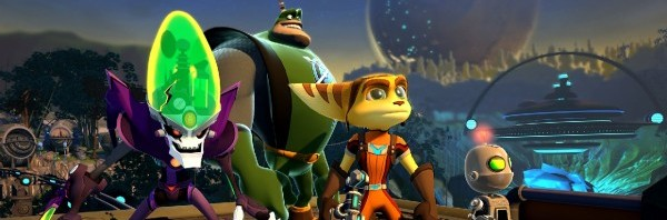 Ratchet & Clank Characters - All 4 One