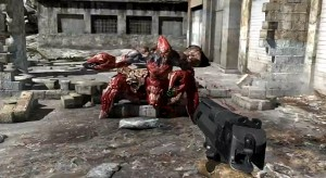 Serious Sam 3: BFE used a giant red invincible scorpion to grief pirates into seeing the error of their ways.