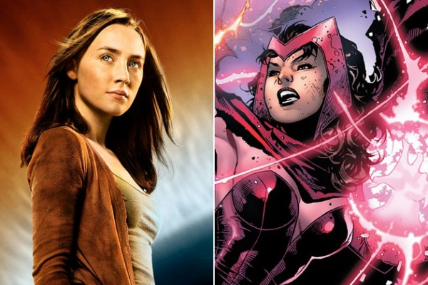 Saoirse Ronan potentially The Scarlet Witch