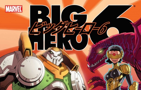 Big Hero 6 Comicbook