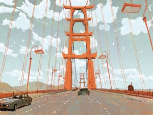 Big Hero 6 - Bridge to San Fransokyo