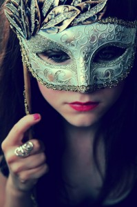 What use is being passionate about something if you're forever left hiding behind a mask?