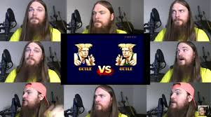 Smooth McGroove singing Guile's Theme song from Street Fighter 2