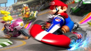 Mario Kart 8 uses anti-gravity and flight to mix up the old formula.