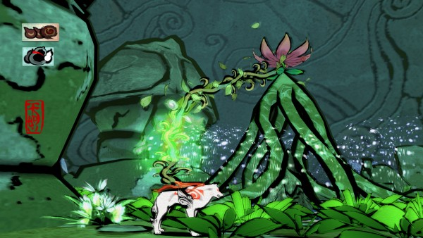 Okami is visually stunning