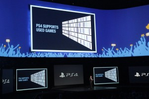 Sony were happy to confirm that the PS4 will fully support used games and will never require online connectivity.