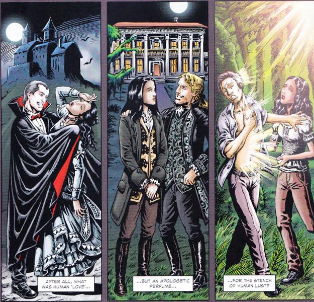 The three eras of vampires.