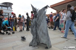 This Witch-King of Angmar from Lord of the Rings was only a kid! Parenting, you're doing it right.