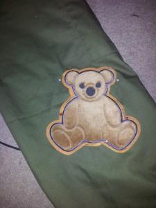 Teddy Patch