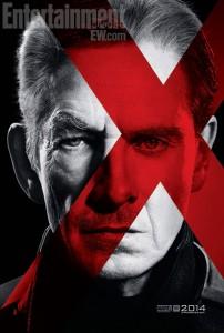 Sir Ian McKellen & Michael Fassbender as Magneto