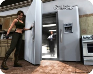 Lara! How could you be so....Cold. (Copyright tumblr.com)
