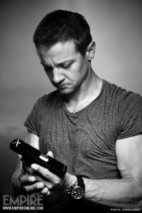 "Part of a photoshoot that Renner did with Empire magazine when he was cast for ""The Bourne Legacy""."
