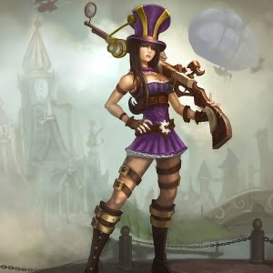 Caitlyn: the Sheriff of Piltover