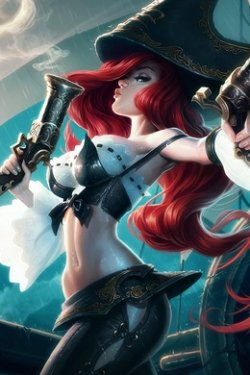 Miss Fortune: the Bounty Hunter