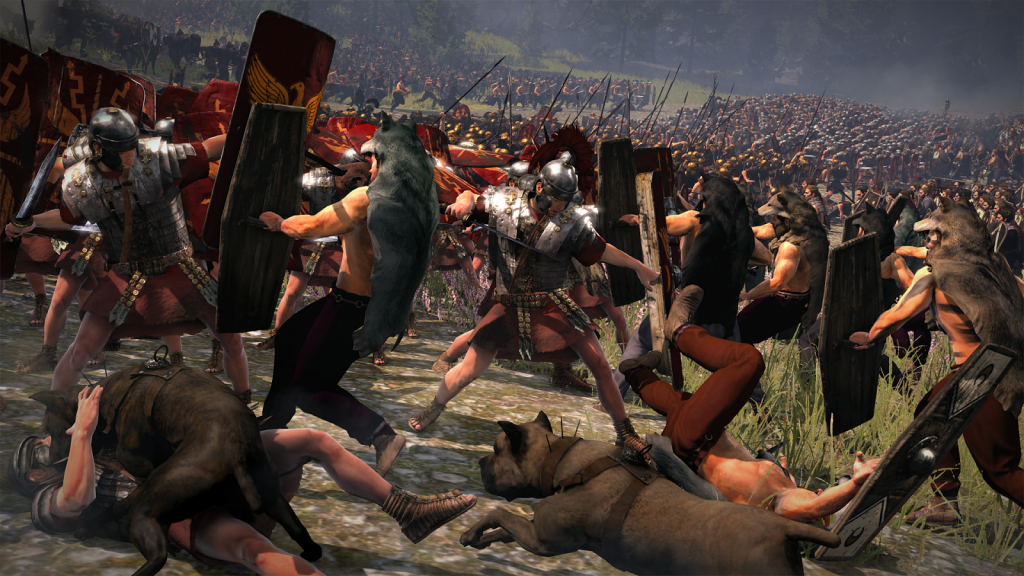 Rome II battle