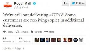 Postman Pat says Relax....