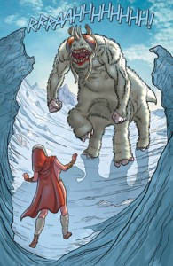 Dejah Thoris encounters some wildlife.