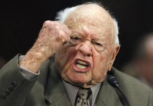Mickey Rooney. He's mental.
