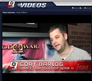 Cory Barlog working on secret project