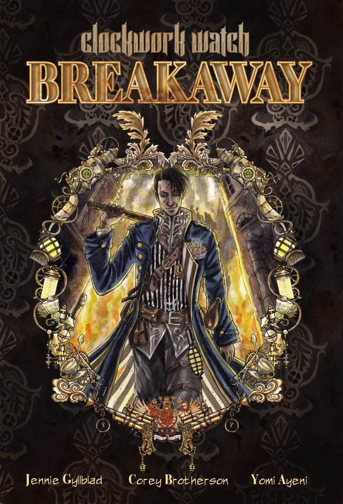 "Clockword Watch graphic novel ""Breakaway"""