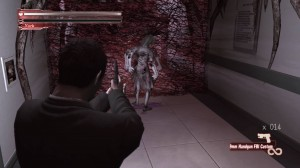 Deadly Premonition's combat is so clunky and simplistic that any attempts at suspense fall flat.