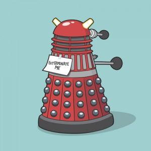Unwanted Teletubby Dalek