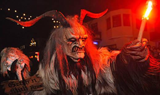 Krampus would go on to win the Eurovision song contest