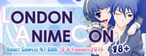 London  Anime Con Banner