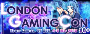 London Gaming Con Banner