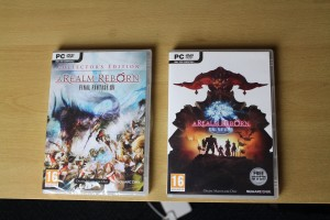 Collectors Edition artwork (left) compared to Standard Edition (right)