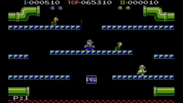 Luigi Bros - get your fill of retro revamp Mario!