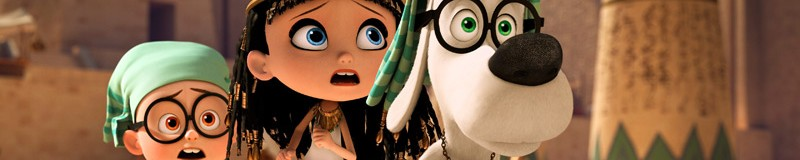 Mr. Peabody & Sherman Header