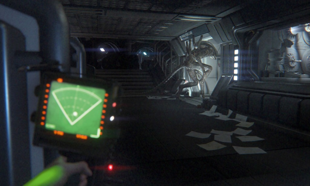 Players need to use the scenery to their advantage if they want to find any chance of escape.
