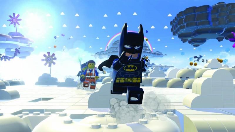 Batman invades Cloud Cuckoo Land... because he's Batman, dammit!