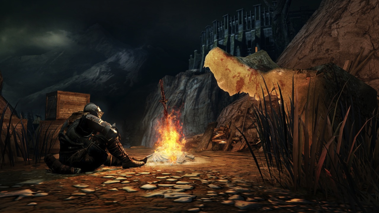 Bonfires will be your best friend. Recoup health, fast travel, upgrades are all accessed from them.
