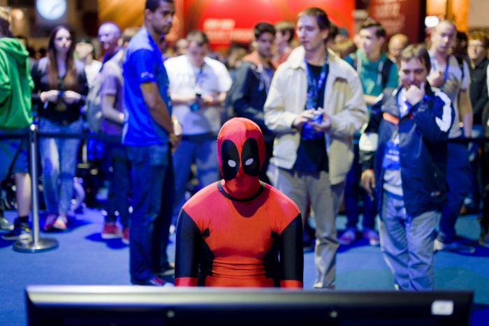 Even Deadpool likes to play games now & then