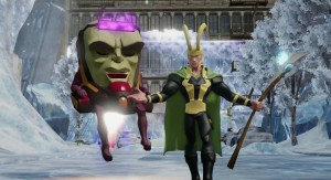 Loki & M.O.D.O.K make an entrance