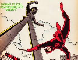 Daredevil fights Stilt-Man