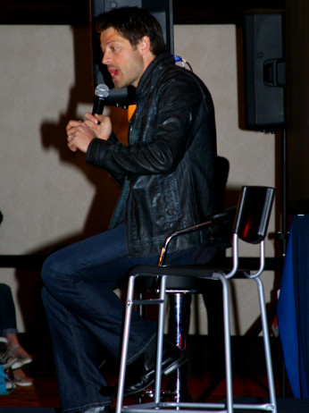 Misha Collins during the stage talk