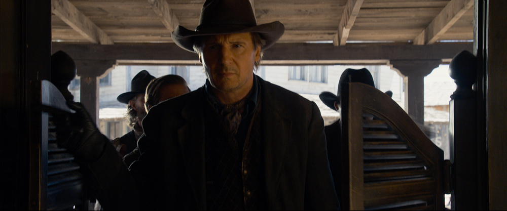 Neeson's character Clinch is absent for a lot of the film