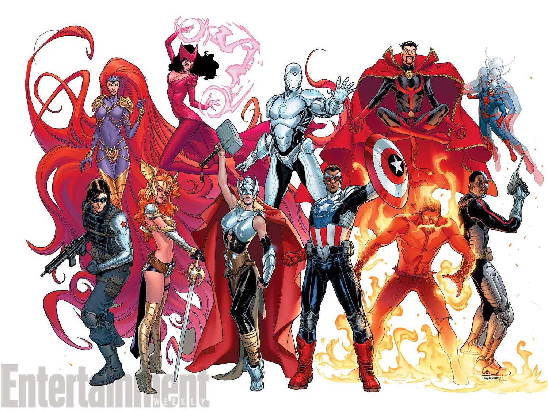 Avengers Now